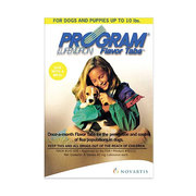 Program for Dogs - Program Flavor Tabs effective fleas treatment for d